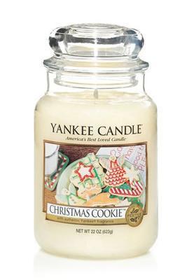 Svíčka Christmas Cookie - sklo č.3, Yankee Candle