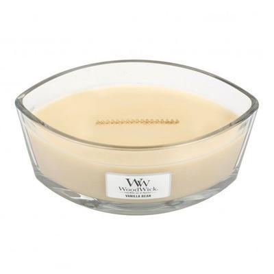 Svíčka loď - Vanilla Bean - 453,6 g, WoodWick