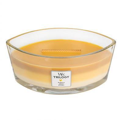 Svíčka loď - Fruits of Summer TRILOGY - 453,6 g, WoodWick