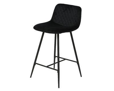 Barová židle, černá, Kaemingk