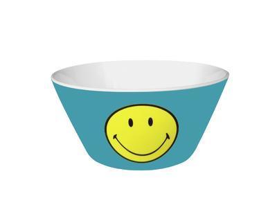 Miska na cereálie SMILEY 15 cm - modrá, Zak!