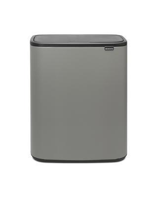 Odpadkový koš Touch Bin 2x30L , minerální světle šedá, Brabantia