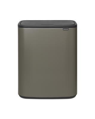 Odpadkový koš Touch Bin 2x30L , platinová, Brabantia