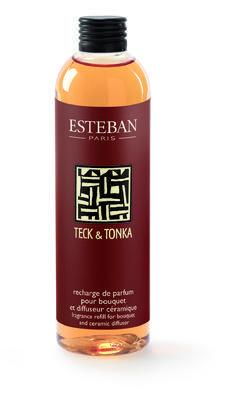 NÁPLŇ DO DIFUZÉRU - TEAK A TONKA, 250 ML, ESTEBAN