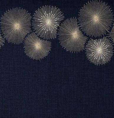 Vánoční ubrus RAYS 85x85 cm - navy blue, Sander