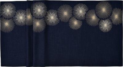 Vánoční ubrus RAYS 150x250 cm - navy blue, Sander