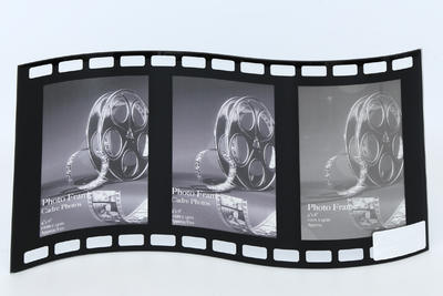 Fotorámeček TRIPLE BLACK FILM 34x20 cm, Sifcon