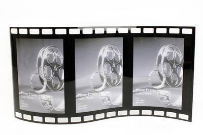 Fotorámeček TRIPLE BLACK FILM 44x22 cm, Sifcon
