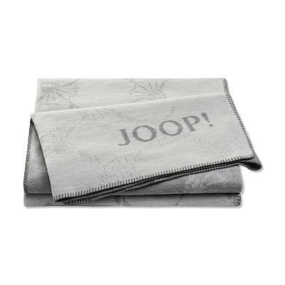 Deka JOOP! CORNFLOWER DOUBLE 150x200 cm silber-rauch