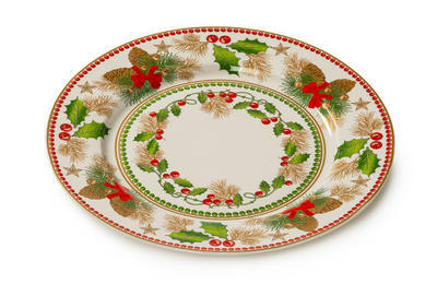 Vánoční talíř jídelní HAPPY DAYS 27 cm, Palais Royal