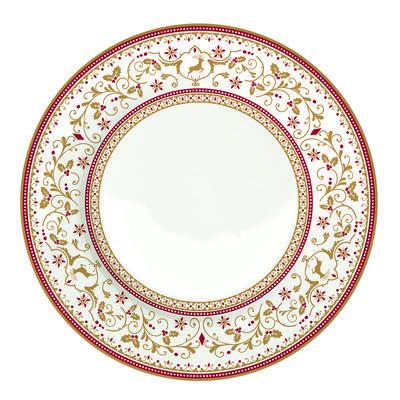 Vánoční talíř dezertní WINTER CAROUSEL 19 cm, Easy Life