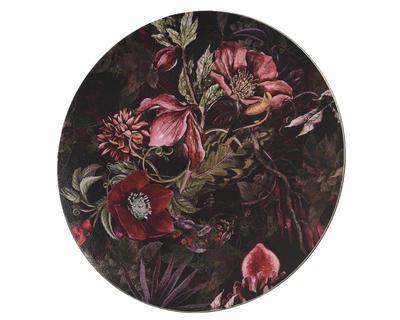 Talíř dekorační FLOWERS 33 cm, Kaemingk