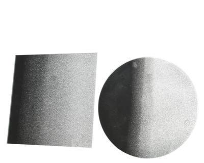 Podložka - Zrcadlo s glitry flow 10 cm, Kaemingk