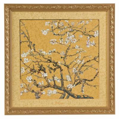 Obraz ARTIS ORBIS V. van Gogh - Almond Tree Golden - 68x68 cm, Goebel
