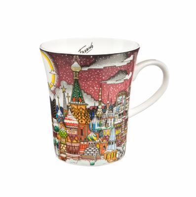 Hrnek POP ART Ch. Fazzino - Dasvidanya Moscow Circus - 400 ml, Goebel