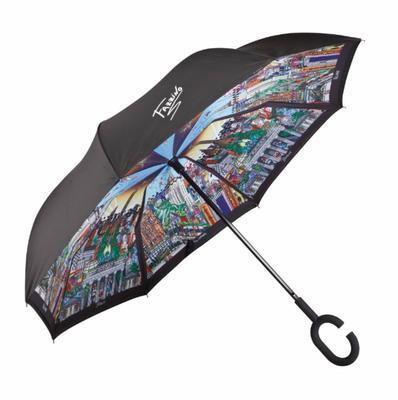 Deštník - Upside Down POP ART Ch. Fazzino - Berlin - New York, Goebel