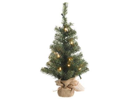 Vánoční mini stromeček v obalu IMPERIAL se světýlky 90cm-50L, Kaemingk