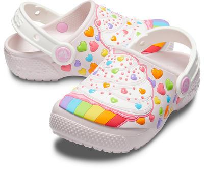 Boty FUNLAB CUPCAKE CLOG KIDS C11 barely pink, Crocs