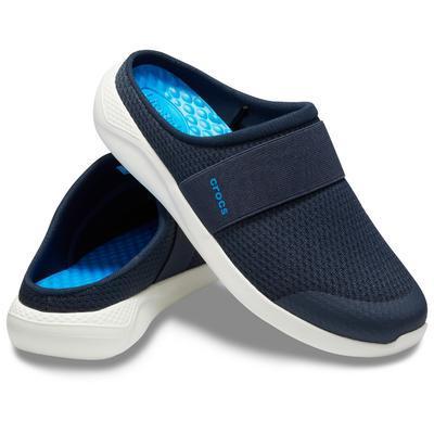 Pantofle LITERIDE MESH MULE M11 navy/white, Crocs