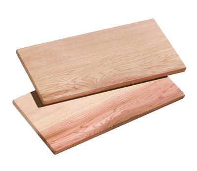 SET 2 ks grilovacích prkének z cedrového dřeva, vel. M, 35x17,5cm, Küchenprofi