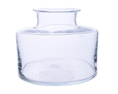 Váza THICK EDGE 28x23 cm - čirá, Kaemingk