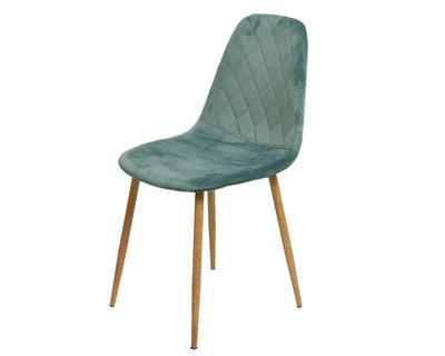 Židle jídelní VELVET 44x47x87cm - eukalyptus, Kaemingk