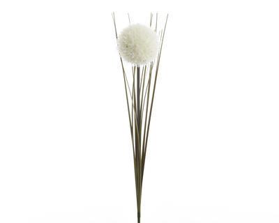 Vánoční umělá květina - Stonek česneku SILK 66 cm - bílá, Kaemingk