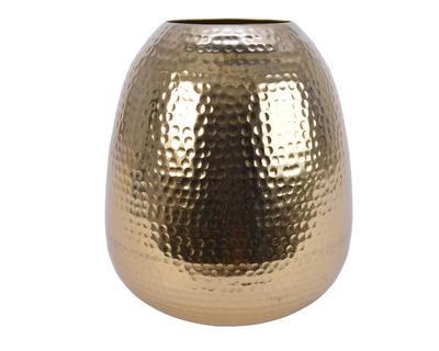 Váza HAMMER FINISH 23x28 cm - zlatá, Kaemingk