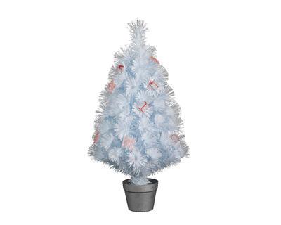 Vánoční stromeček v květináči AMSTERDAM 90 cm - 80 LED, Kaemingk