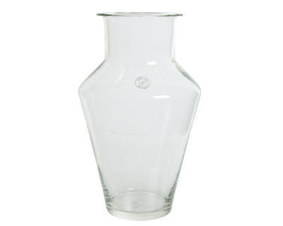Váza MOUTH BLOWN 25x39 cm - čirá, Kaemingk