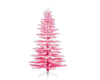 Vánoční umělý stromek - Smrk PARIS 200 cm - růžový, Kaemingk