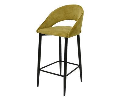 Židle barová BAR STOOL 48x50x110 cm - zelená, Kaemingk