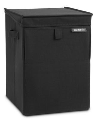 Box na prádlo stohovatelný 35 l - černá, Brabantia