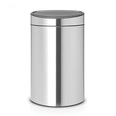 Koš odpadkový TOUCH BIN NEW 40 l - matná ocel, Brabantia