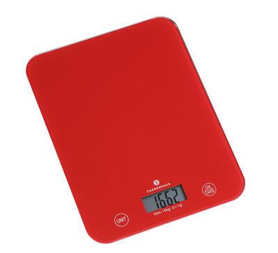 Digitální váha BALANCE XL 33 cm - červená, Zassenhaus