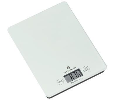 Digitální váha BALANCE 20,5 cm - bílá, Zassenhaus