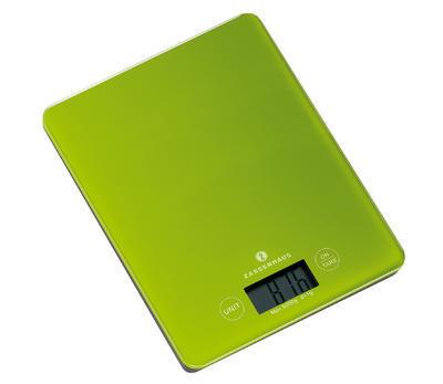 Digitální váha BALANCE 20,5 cm - zelená, Zassenhaus