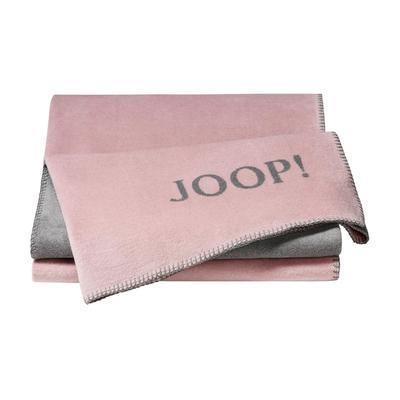 Deka JOOP! UNI-DOUBLEFACE 150x200 cm rose-graphit