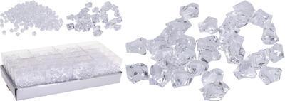 Dekorační akrylové kameny 10cm, 3 assort, Koopman