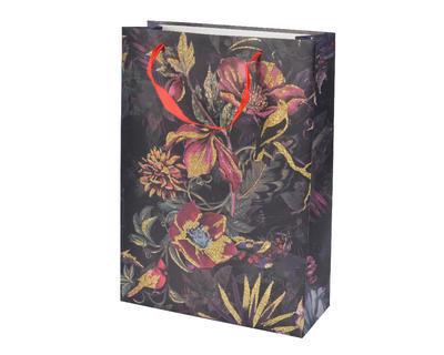 Dárková taška FLOWER 8x18x24cm, Kaemingk