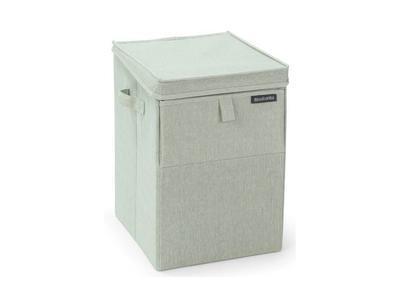 Box na prádlo stohovatelný 35 l - zelený melír, Brabantia