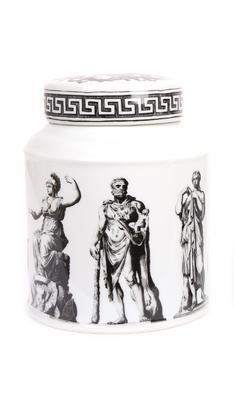 Dekorativní dóza, 18,5x14,5x14,5cm, 2 druhy, Sifcon