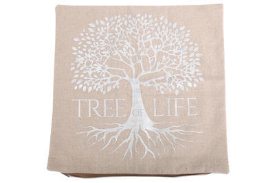 Dekorační polštářek - Strom života, 40x40cm, Sifcon