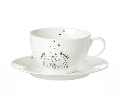 Šálek na kávu LOVEBIRDS 250 ml, R & B