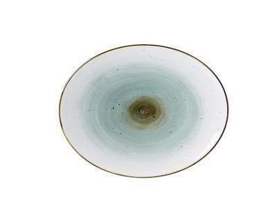 Talíř oválný COSMO BLUE 26x21 cm, R & B