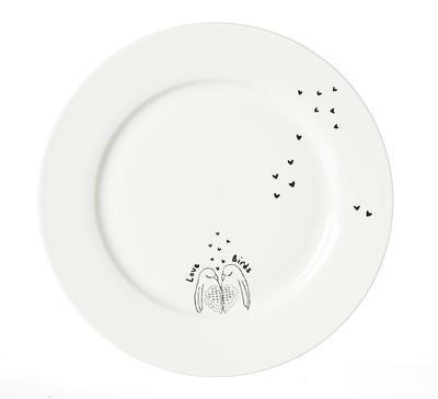 Talíř jídelní LOVEBIRDS 27 cm, R & B