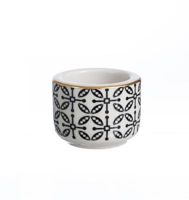 Svícen na čajovou svíčku TAKEO LEAVES GOLD 6 cm, R & B
