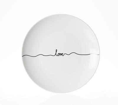 Talíř jídelní LOVELINE 27 cm, R & B