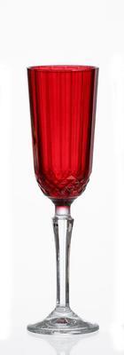 Sklenice na šampus TRIANGLE RED 125 ml, R & B