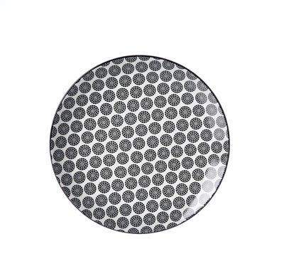 Talíř dezertní TAKEO CIRCLES 21 cm, R & B